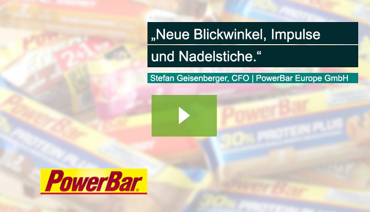 Stefan Geisenberger, Managing Director (COO/CFO), Powerbar